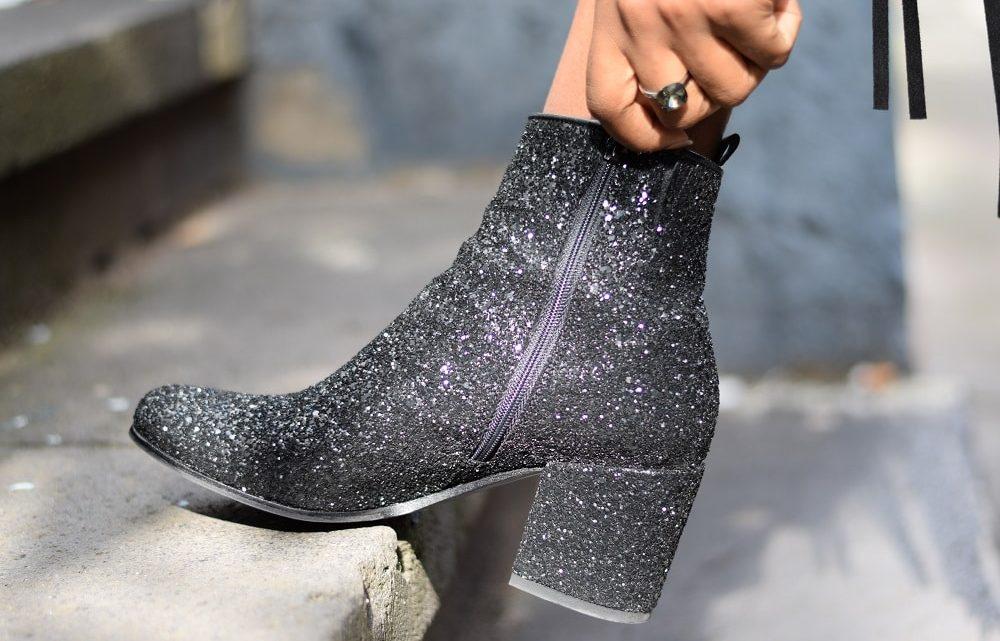 Comment porter les chaussures à paillettes ?