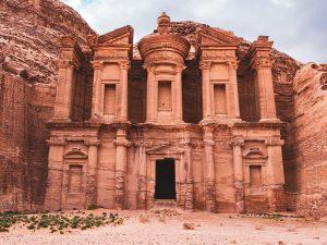 Petra Jordanie merveilles du monde