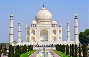 Taj Mahal merveilles du monde
